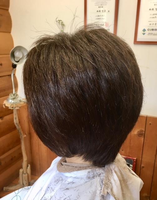多毛 硬い毛髪の癖毛でもキュビズムカットで素敵になります