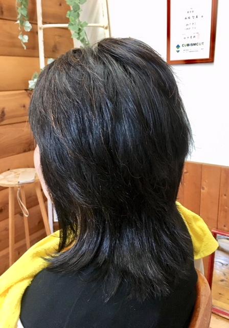 癖毛で頭が大きく見えていませんか?