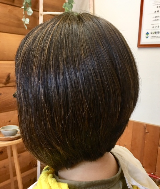 流れる癖毛を解消