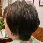 薄毛に対応キュビズムカットとヘナ