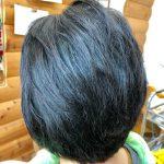 多毛で癖が強くてもキュビズムカットとヘナで改善