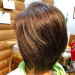 癖毛 縮毛矯正の後 ハチ張り 多毛のキュビスムカット
