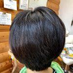多毛の癖毛でもキュビスムカットとヘナで落ち着きます