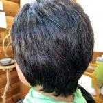 多毛で癖が強くてもキュビズムカットとヘナで解消